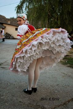 Hungarian folk costume - Explore the World with Travel Nerd Nici, one Country… Costumes Around The World, Hungarian Embroidery, Folk Dance, Ethnic Dress, Folk Costume, World Cultures, Traditional Dresses, Beautiful Outfits, Beautiful People