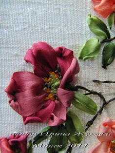 Embroidery Items Shop Near Me like Silk Ribbon Embroidery Tutorial against Ribbon Embroidery Stitches By Hand Tutorial unlike Embroidery Designs Pictures Ribbon Embroidery Tutorial, Embroidery Patterns Free, Silk Ribbon Embroidery, Embroidery Kits, Embroidery Stitches, Embroidery Designs, Embroidery Supplies, Embroidery Companies, Machine Embroidery