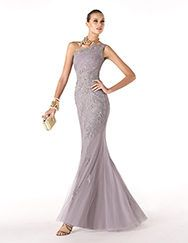 Pronovias presents the Rabatta cocktail dress from the Cocktail 2014 collection. | Pronovias