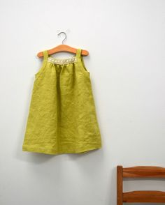 linen dress from Burda Style magazine by la inglesita, via Flickr