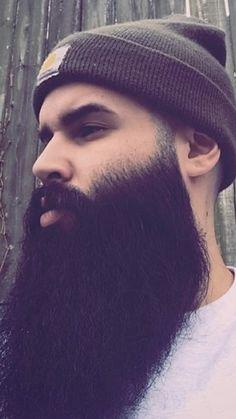 Big Beard, Long Hair Beard, Full Beard, Beard Love, Beard Styles For Men, Hair And Beard Styles, Long Hair Styles, Grey Beards, Long Beards