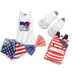 """' kolorki flagi USA '' ;'3"" by jaramsietobajaksmerf on Polyvore"