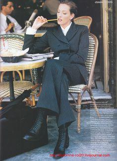 Tatjana Patitz | Photography by Pamela Hanson | For Vogue US | October 1993