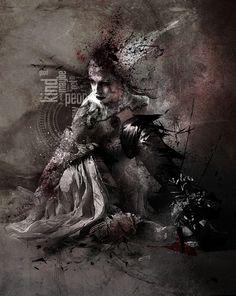 Poverty is Fearless Daenerys Targaryen, Photoshop, Statue, Book, Fictional Characters, Art, Books, Livres, Kunst