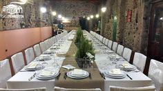 Tavolo imperiale per ricevimento nozze nella Sala Cantina.