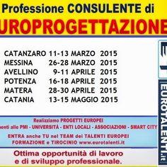 MASTER in EUROPROGETTAZIONE EDIZIONE DI BARI Opportunità occupazionale e di sviluppo professionale. RIPARTI CON UNA COMPETENZA INNOVATIVA Diventa esperto EUR...