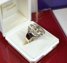 20 mm Ring Silber 925 Mittelalter Symbol rar SR276 von Schmuckbaron