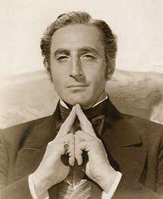 basil rathbone as mr. murdstone in david copperfield - 1935