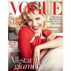 #Vogue UK October/2015 #SiennaMiller by #MarioTestino #fashioneditorial #covershot #magazine #models #fashion #style #stylish #instafashion #beauty #fashionissue #editorialdesign #makeup #magazines #inspiring #fashionphotography #mags #luxury #glamour #Interview #BritishVogue #VogueUK @britishvogue