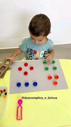 Baby Learning Activities, Creative Activities For Kids, Montessori Activities, Infant Activities, Preschool Special Education, Kids Education, Hand Crafts For Kids, Preschool Crafts, Kids And Parenting