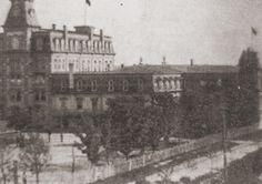 Kolegium św. Hieronima w latach osiemdziesiątych.