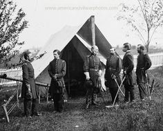 Culpeper, Virginia. General Marsena R. Patrick and staff. Date Created/Published: 1863 Sept.