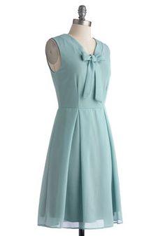 Pondside Processional Dress, #ModCloth