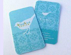 Showcase of 44 Beautiful Letterpress Business Card Designs