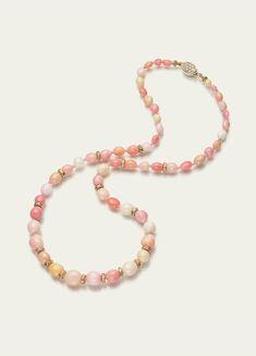 Concha Perla, Oro y collar de diamantes