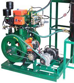 Vegetable Oil Lister Generator 3,000 Watt