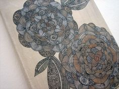 Beautiful Line Drawings by Valentina Ramos