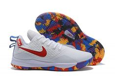 09fa3227bab3 Mens Nike Lebron Witness 3 March Madness White Multi-Color For Sale-3