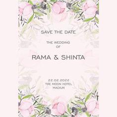 Pink Floral Wedding Invitation,Pink Floral, flower incitation,Floral Wedding Invitation,Floral Invitation,Floral, Wedding Card, Wedding Invitation, Undangan, Undangan Pernikahan,Invitation wedding,Invitation,wedding