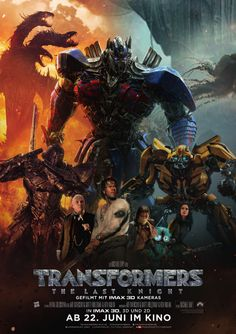 Poster zum Film: Transformers - The Last Knight