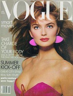 Paulina Porizkova on Vogue, 1987