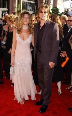 Jennifer Aniston & Brad Pitt - The Emmys September 2002