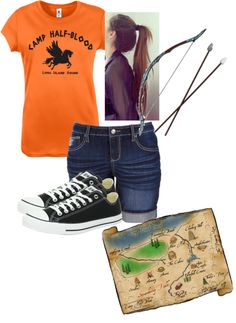 """My Camp Halfblood Outfit"" by allie3240 ❤ liked on Polyvore"