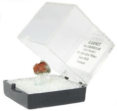 Orange Grossular Garnet Natural Crystals in by FenderMinerals