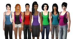 MDP, that's me. Simblr of Sims 2 and Custom Content included. The Sims Original, Camo Bikini, Sims 2, Bra, Female, Bikinis, Clothing, Outfits, Tops