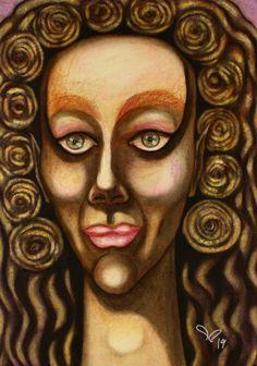 Female Portrait, Woman Portrait, Original Paintings, Original Art, Abstract Portrait, Painting Abstract, Pastel Portraits, Painting Process, Artwork Online