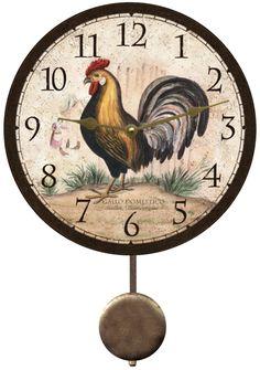 rustic-rooster-clock