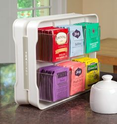 Everyone on Amazon Is Obsessed With This Tea Bag Organizer