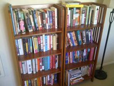 #DailyBookPic Nonfiction: In my house, we separate the books by fic/nonfic, then alphabetize. Which is totally normal and non-obsessive.
