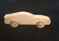 Handmade Wood Wooden Toy Car Kid friendly non toxic by ItsSawGood