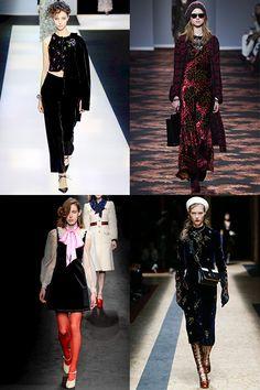 Fashion Week FW_2017 : Trends - Velvet