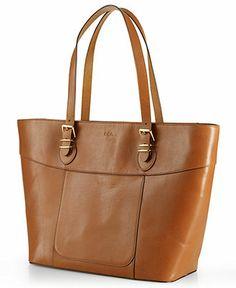 226dd754baed Lauren Ralph Lauren Bexley Heath Classic Tote Handbags   Accessories -  Macy s