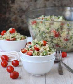 Salad Recipes : Quinoa Tabbouleh Salad Recipe