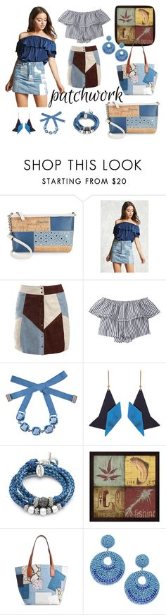 """Patchwork"" by janemusic ❤ liked on Polyvore featuring Calvin Klein, Forever 21, Sans Souci, Atelier Swarovski, STELLA McCARTNEY, Lizzy James, Marc Jacobs and Kenneth Jay Lane"