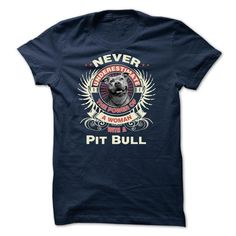 Never Underestimate ThePower Of A Woman With A Pit Bull - #cute tshirt #hoodie freebook. MORE ITEMS => https://www.sunfrog.com/Pets/Never-Underestimate-ThePower-Of-A-Woman-With-A-Pit-Pull.html?68278