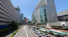 """The Kita (北, """"North"""") district, also known as Umeda, is one of Osaka's two main city centers. It is located around the large station complex that comprises Osaka and Umeda Stations. Kita's counterpart is Minami (南, """"South"""") around Namba Station."""
