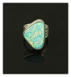 Art Deco Fire Opal Ring