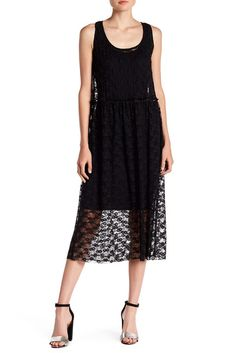 Image of Socialite Sheer Lace Dress