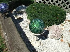 green gazing ball image by maymewyns - Photobucket