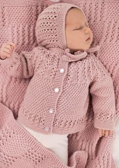 Recipe Of Open Garment With Openwork Dec Knitcardiganmodels - Diy Crafts - Marecipe Crochet Baby Sweaters, Baby Cardigan Knitting Pattern, Knitted Baby Clothes, Cute Baby Clothes, Baby Knitting Patterns, Baby Patterns, Crochet Hats, Baby Pullover, Crochet Baby Booties