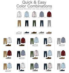 man color combination - Buscar con Google