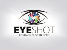 Eye Shot Logo by Creative Dezing on @creativemarket