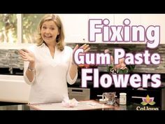 How to Repair Gum Paste Flowers with Bronwen Weber.