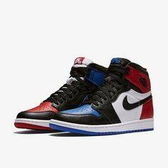 buy popular 67156 74377 Air Jordan 1 Retro High OG Top 3 Nike Sneaker shoes 36-46