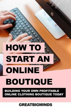 Learn how to start online boutique business in 6 simple steps. By the end of this step by step tutorial, you would have learned how to build a profitable online clothing boutique today. Read more inside. #onlinestore #onlineboutique #onlineclothingboutique #onlineboutiquebusiness #ecommerce Starting An Online Boutique, Selling Online, Online Income, Earn Money Online, Business Tips, Online Business, Online Clothing Boutiques, Ecommerce, Simple
