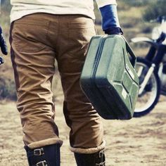 The FUEL Sergeant waxed pants made for nostalgic riders! The Fuel Sergeant Waxed Pants are made for your day-by-day ride or to Motorcycle Pants, Getting Wet, Blue Denim, Safety, It Is Finished, One Piece, Pairs, Collection, Fashion